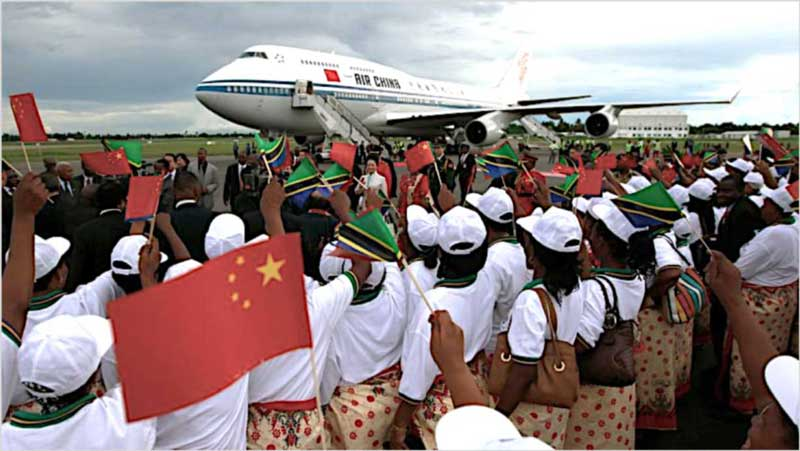 Chinese leading the charge on visitors to Africa